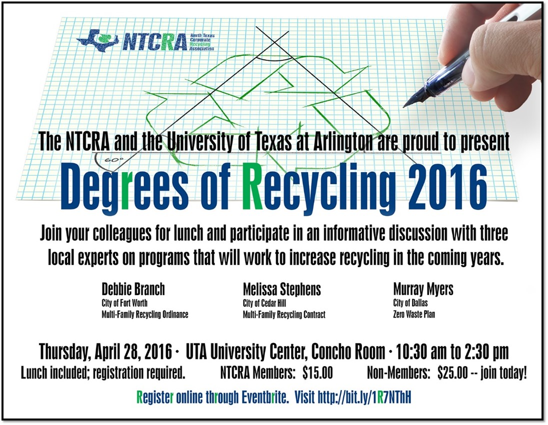 Degrees of Recycling 2016