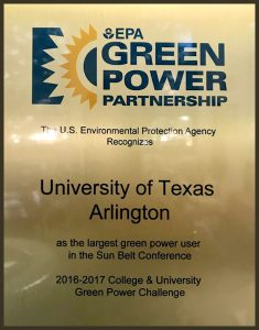 EPA recognized UTA as the largest Green Power User in the Sun Belt on green tigerzord, green ranger wallpaper hd, green morpher, green rpm, green dragonzord,